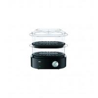 BRAUN 3216- FS5100BK Ατμομάγειρες Μαύρο/Ασημί