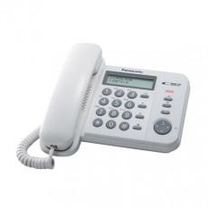 PANASONIC KX-TS560EX2W Ενσυρματα Τηλεφωνα White