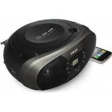 AKAI BM004A-614 Ραδιόφωνα Black
