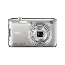 NIKON S3700 SILVER Compact Camera