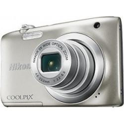 NIKON A100 COOLPIX SILVER Compact Camera