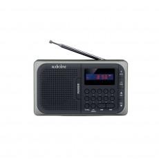 AUDIOLINE TR-210 Ραδιοφωνα Black/Silver