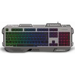 ZEROGROUND KB-2300G SAGARA Πληκτρολόγια Μαύρο