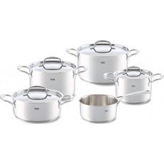 FISSLER SET 5 ΣΚΕΥΗ RIVA 0211605 Σετ μαγειρικών σκευών Inox