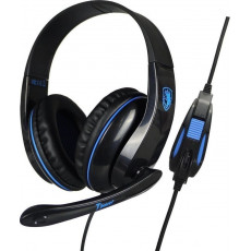 SADES SA-701BL GAMING Tpower Ακουστικά-Μικρόφωνο