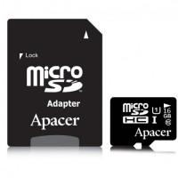 APACER MICRO SDHC UHS-I U1 CLASS10 16GB Κάρτες SD/MicroSD