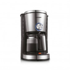 GRUPPE CM338 Καφετιέρα φίλτρου/Γαλλικού Black/Inox