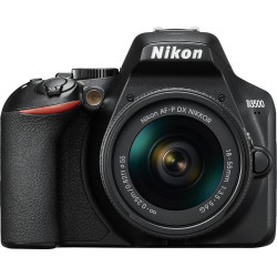 NIKON D3500 + AF-P 18-55 DX KIT Dslr Black (VBA550K002)