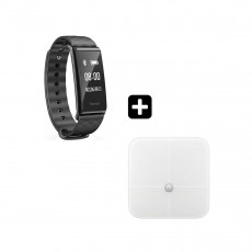 HUAWEI COLOR BAND A2-AW61+ΔΩΡΟ ΖΥΓΑΡΙΑ BODY FAT SCALE Smartwatches Black