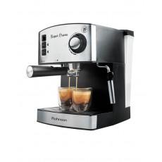 ROHNSON R-980 Μηχανές Espresso Silver/Black