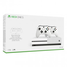 MICROSOFT XBOX ONE S 1TB 2 CONTROLLERS Xbox One