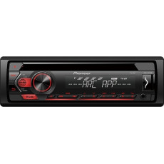 PIONEER DEH-S121UB Car Audio Player Red
