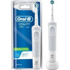 ORAL-B VITALITY 100 CROSSACTION Οδοντόβουρτσες (4210201266877) White Blister
