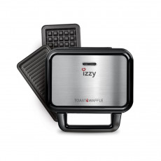 IZZY IZ-2001 TOAST & WAFFLE XL (223420) Σαντουιτσιέρες/Τοστιέρες Inox