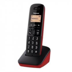 PANASONIC KX-TGB610JTR Ασύρματα Τηλέφωνα Red/Black