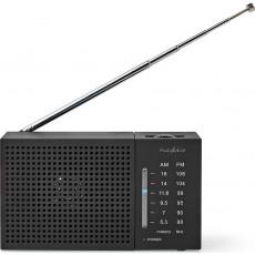 NEDIS RDFM1200BK Ραδιόφωνα Black