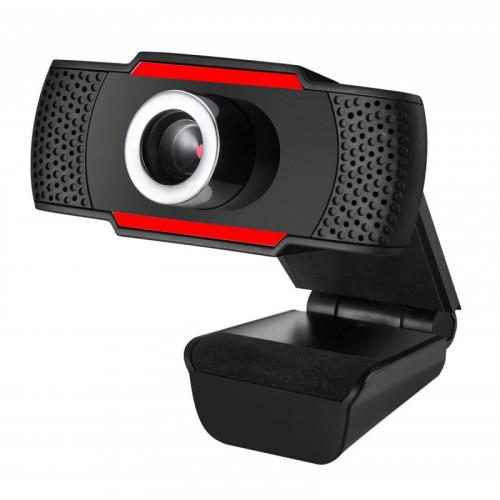 OEM CAM06 USB-FULL HD-MICROPHONE Web Κάμερες Black