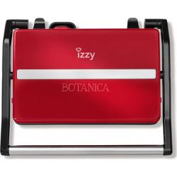IZZY PANINI BOTANICA IZ-2005 (223656) Σαντουιτσιέρες/Τοστιέρες Red