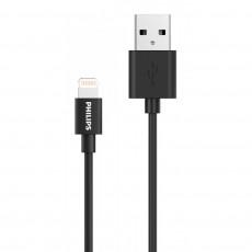 PHILIPS USB TO LIGHTING 1.2m (DLC3104V-00) Καλώδια-Λοιπά Αξεσουάρ Κινητής Black